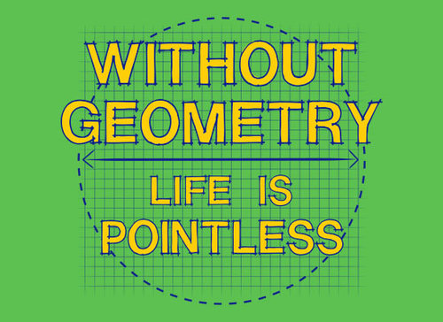 Without Geometry, Life is Pointless