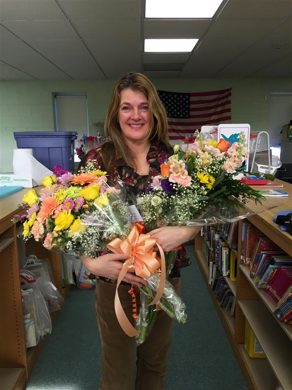 Grace Dakoglou named Teacher of the Year at P.M.R.S.